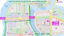 Bán mới vị trí đẹp nhất Dự án Nam Hòa Xuân, giá chỉ từ 550 triệu
