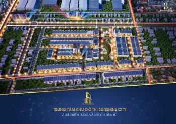 Khu đô thị Sunshine city-Nam Đà Nẵng-cơ hội đầu tư sinh lời cao tại khu dân cư đông đúc chỉ 685tr/lô
