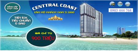 Chuẩn bị mở bán đợt đầu dự án căn hộ nghỉ dưỡng 5* Central Coast trung tâm bờ biển Mỹ Khê Đà Nẵng