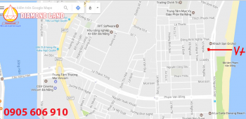Cho thuê đất VIP MT đường biển  Võ Nguyên Giáp đ/diện nhà hàng Mỹ Hạnh.0905.606.910